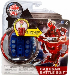 Bakugan Mechtanium Surge Battle Suit Blue Blasterate