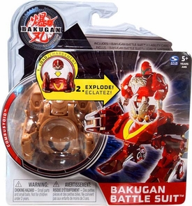 Bakugan Mechtanium Surge Battle Suit Brown Combustoid