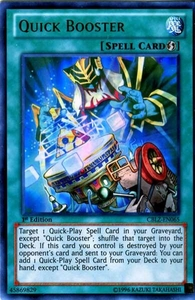 YuGiOh Zexal Cosmo Blazer Single Card Ultra Rare CBLZ-EN065 Quick Booster