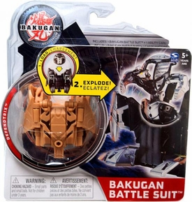 Bakugan Mechtanium Surge Battle Suit Brown Defendtrix BLOWOUT SALE!