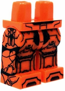 Eclipse Grafx Custom Printed LOOSE LEGS Space Assault Orange