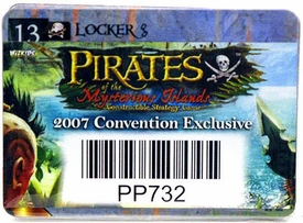 Pirates of the Mysterious Islands Constructible Strategy Game 2007 Convention Exclusive