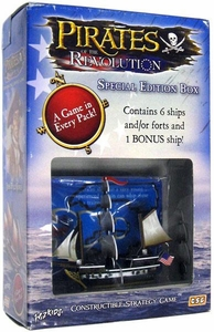 Pirates of the Revolution Constructible Strategy Game Revolution Special Edition Box