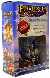Pirates of the Revolution Constructible Strategy Game Revolution Special Edition Box Red Curse