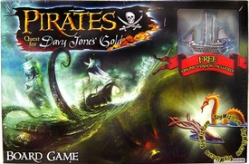 Pirates Quest for Davy Jones' Gold Board Game