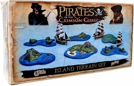 Pirates of the Crimson Coast: Island Terrain Set #1: Pirates of the Spanish Main