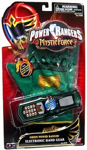 Power Rangers Mystic Force Green Power Ranger Electronic Hand Gear
