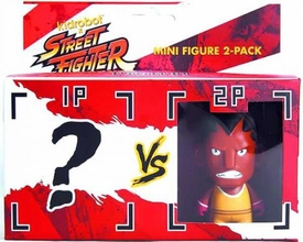KidRobot Street Fighter Collectible Vinyl 3 Inch Mini Figure 2-Pack Balrog [Includes 1 Mystery Figure]