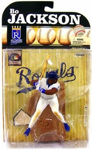 McFarlane Toys MLB Cooperstown Series 6 Action Figure Bo Jackson (Kansas City Royals)