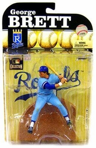 McFarlane Toys MLB Cooperstown Series 6 Action Figure George Brett (Kansas City Royals)