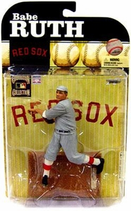 McFarlane Toys MLB Cooperstown Series 6 Action Figure Babe Ruth (Boston Red Sox) Grey Uniform