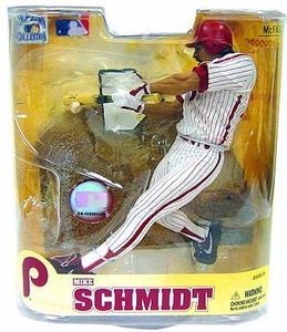 McFarlane Toys MLB Cooperstown Series 5 Action Figure Mike Schmidt (Philadelphia Phillies)