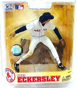 McFarlane Toys MLB Cooperstown Series 5 Action Figure Dennis Eckersley (Boston Red Sox) Red Sox Variant