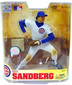 McFarlane Toys MLB Cooperstown Series 5 Action Figure Ryne Sandberg (Chicago Cubs) White Jersey