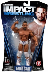 TNA Wrestling Deluxe Impact Series 8 Action Figure Matt Morgan