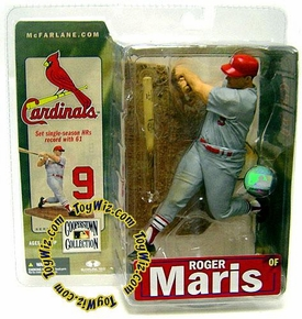 McFarlane Toys MLB Cooperstown Series 4 Action Figure Roger Maris (St. Louis Cardinals) Cardinals Variant