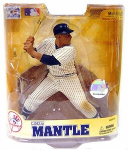 McFarlane Toys MLB Cooperstown Series 5 Action Figure Mickey Mantle (New York Yankees)