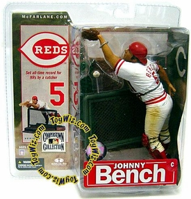 McFarlane Toys MLB Cooperstown Series 4 Action Figure Johnny Bench (Cincinnati Reds)