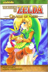Legend of Zelda Manga Oracle of Ages Volume 5