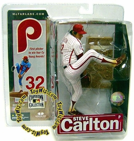 McFarlane Toys MLB Cooperstown Series 4 Action Figure Steve Carlton (Philadelphia Phillies) Pinstriped Uniform Variant