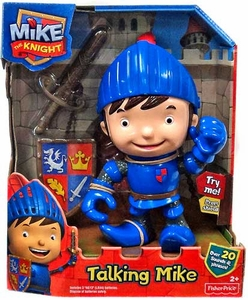 Fisher Price Mike the Knight Deluxe Figure Talking Mike