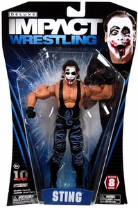 TNA Wrestling Deluxe Impact Series 8 Action Figure Joker Sting