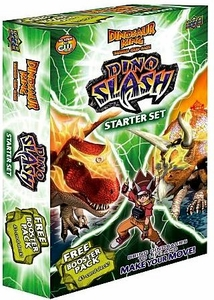 Dinosaur King Trading Card Game Dino Slash Starter Deck