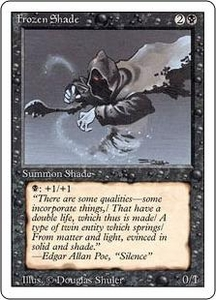 Magic the Gathering Revised Edition Single Card Common Frozen Shade