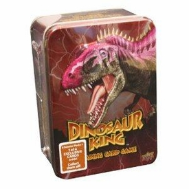 Dinosaur King Trading Card Game Exclusive Red Collectors Tin [6 Booster Packs + 1 Exclusive Card!]