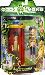 Code Lyoko Series 1 Action Figure Ulrich with Transforming Chamber