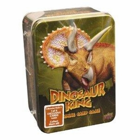 Dinosaur King Trading Card Game Exclusive Yellow Collectors Tin [6 Booster Packs + 1 Exclusive Card!]