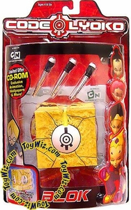 Code Lyoko Series 1 Action Figure Projectile Launching Blok