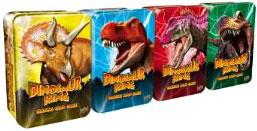 Dinosaur King Trading Card Game Exclusive Set of All 4 Collectors Tins