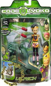 Code Lyoko Series 2 Action Figure Sword Slashing Ulrich