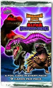 Dinosaur King Trading Card Game Series 3 Alpha Dinosaurs Attack Booster Pack
