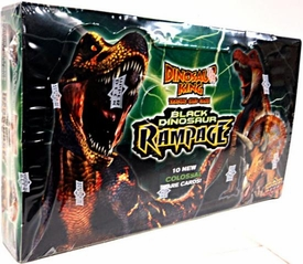 Dinosaur King Trading Card Game Series 4 Black Dinosaur Rampage Booster BOX [24 Packs]