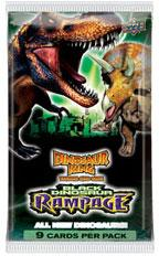 Dinosaur King Trading Card Game Series 4 Black Dinosaur Rampage Booster Pack