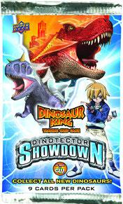 Dinosaur King Trading Card Game Series 5 Dinotector Showdown Booster Pack Hot!