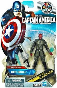 Captain America Movie 4 Inch Action Figure #08 Red Skull [Fast Firing Rocket Launcher]