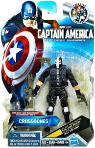 Captain America Movie 4 Inch Action Figure #10 Crossbones [3 Attachable Weapons]