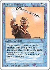 Magic the Gathering Revised Edition Single Card Uncommon Animate Artifact