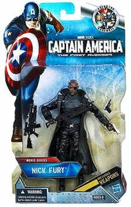 Captain America Movie Exclusive 6 Inch Action Figure Nick Fury