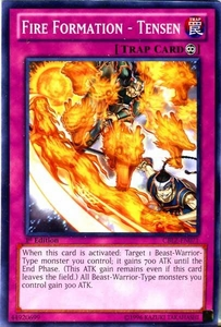YuGiOh Zexal Cosmo Blazer Single Card Common CBLZ-EN071 Fire Formation - Tensen
