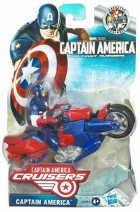 Captain America Movie Cruisers Zoom N Go Power Charge Cycle