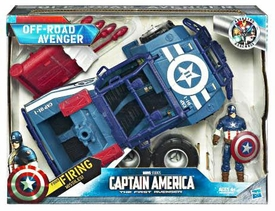 Captain America Movie Battle Vehicle Off-Road Avenger with Action Figure