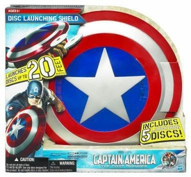 Captain America Movie Toy Captain America Disc Launching Shield