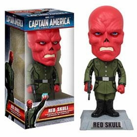 Funko Wacky Wobbler Bobble Head Red Skull [Movie Version]
