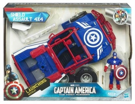 Captain America Movie Battle Vehicle Shield Assault 4 x 4 with Action Figure