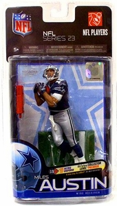 McFarlane Toys NFL Sports Picks Series 23 Action Figure Miles Austin (Dallas Cowboys)