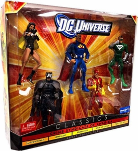 DC Universe Classics Exclusive Action Figure 5-Pack Crime Syndicate of Amerika [Ultraman, Owlman, Superwoman, Power Ring & Johnny Quick]